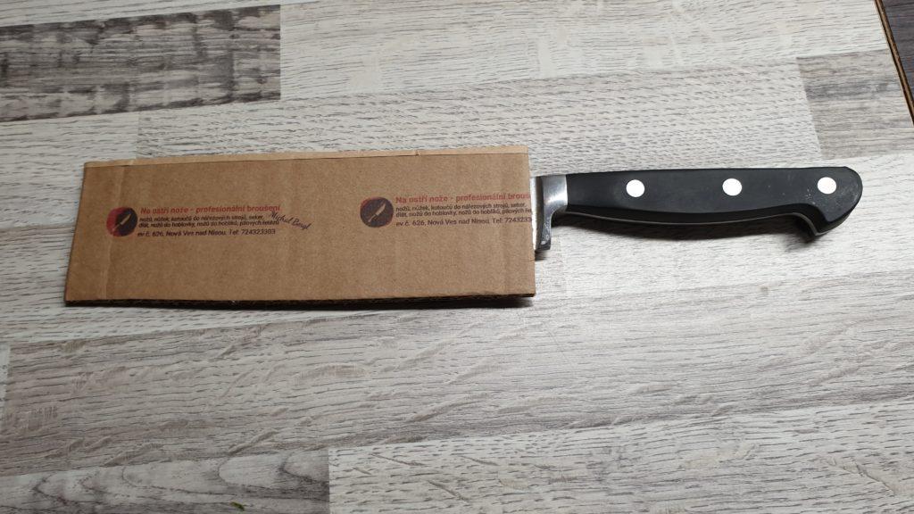 Michal Bergl - broušení nožů - COLOP e-mark
